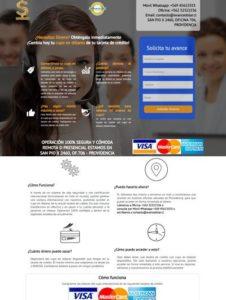 pagina web, para obtener dinero efectivo del cupo en dolares de tu tarjeta de crèdito