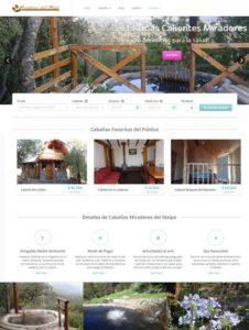 Página Web Centro de Ecoturismo Cajón del Maipo